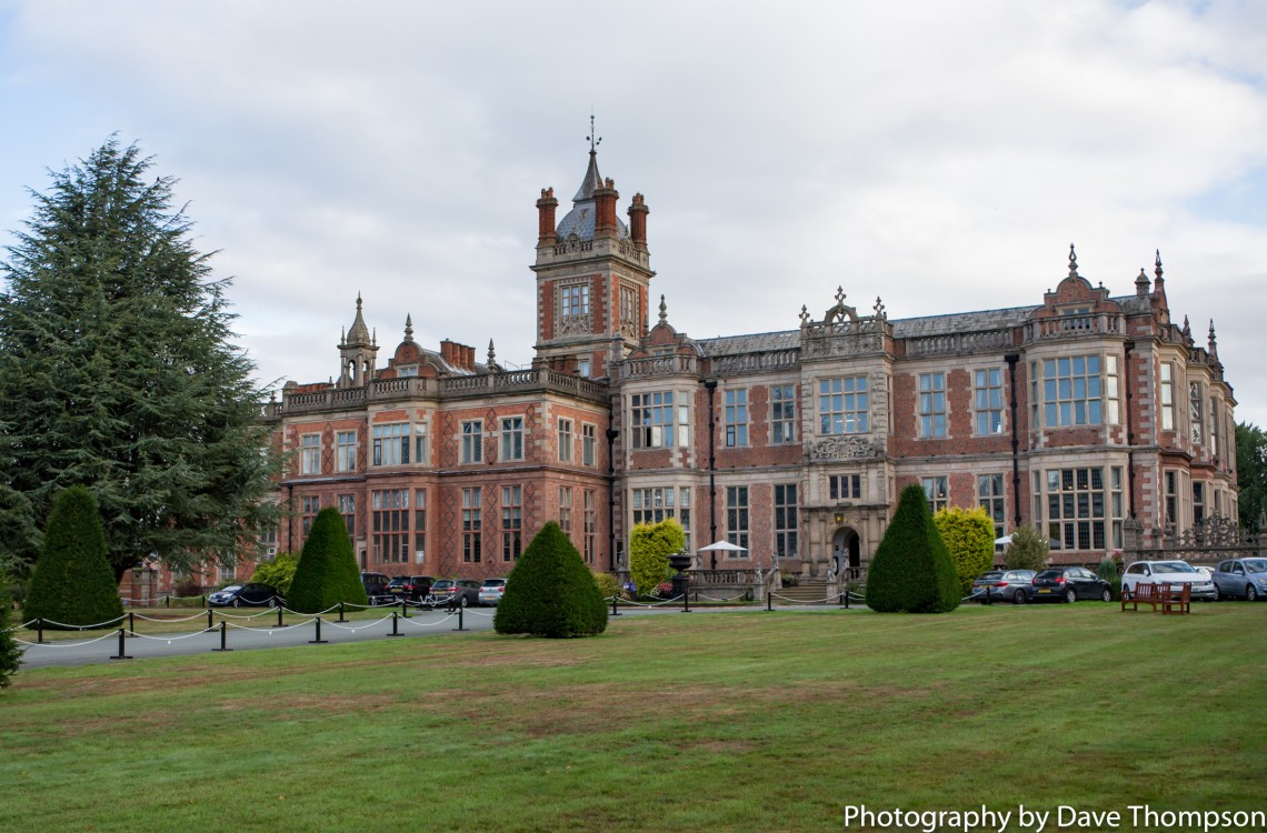 Crewe Hall Wedding venue