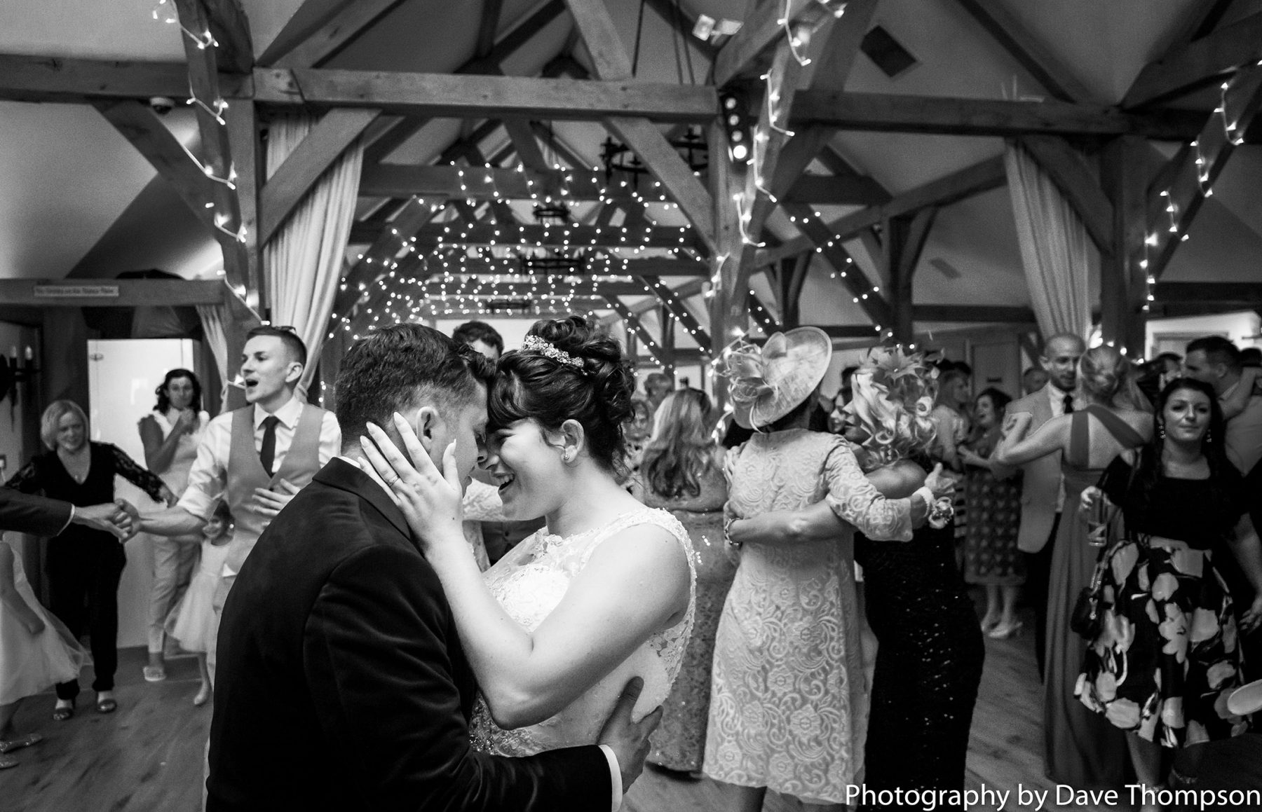 The first dance together
