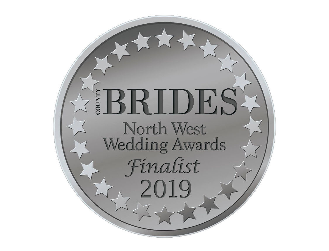 North West Wedding Awards Finalist badge 2019