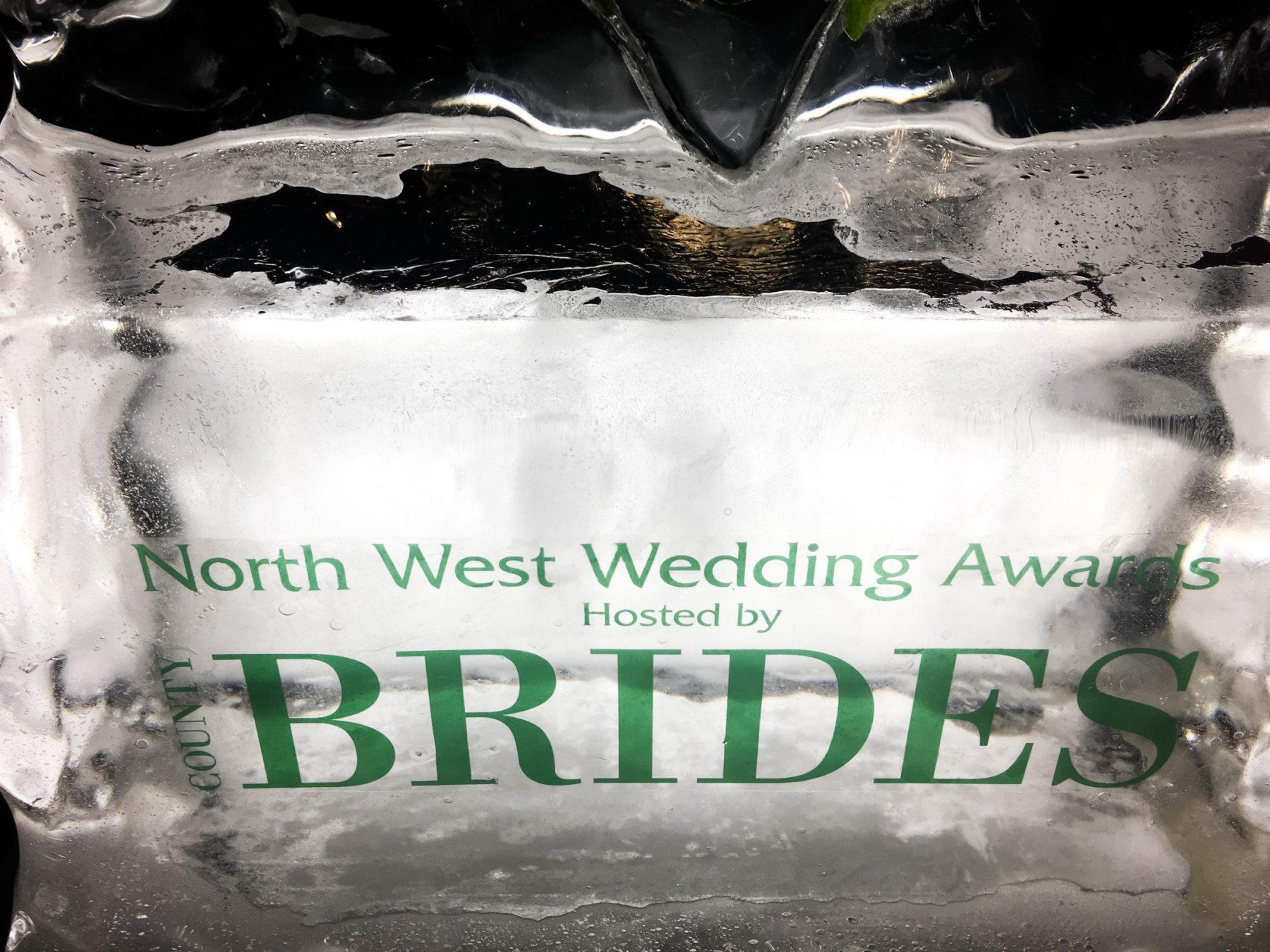 Ice sculpture in reception