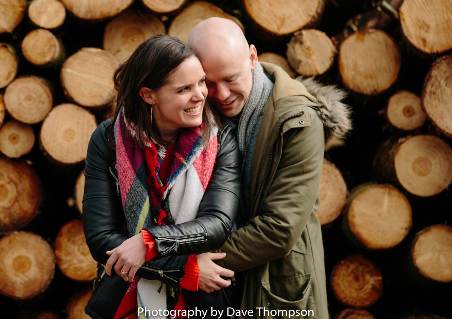 Delamere Forest pre wedding shoot