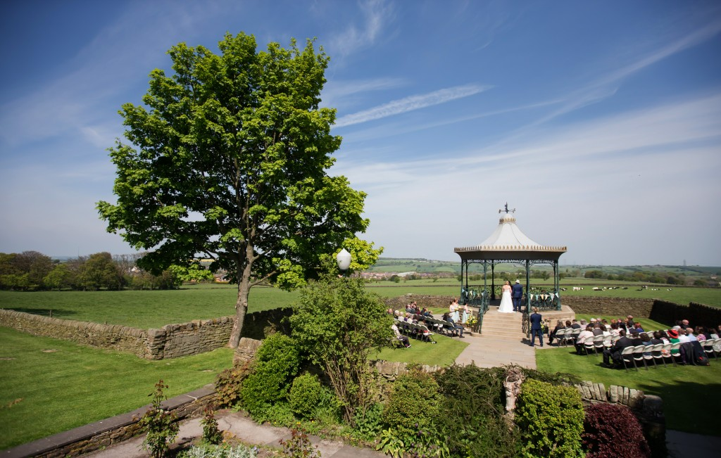 Beautiful Outdoor Wedding Photography - Cubley Hall