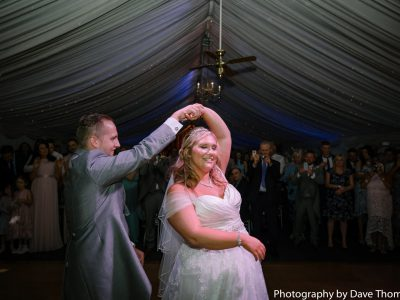 First dance for the bride and groom