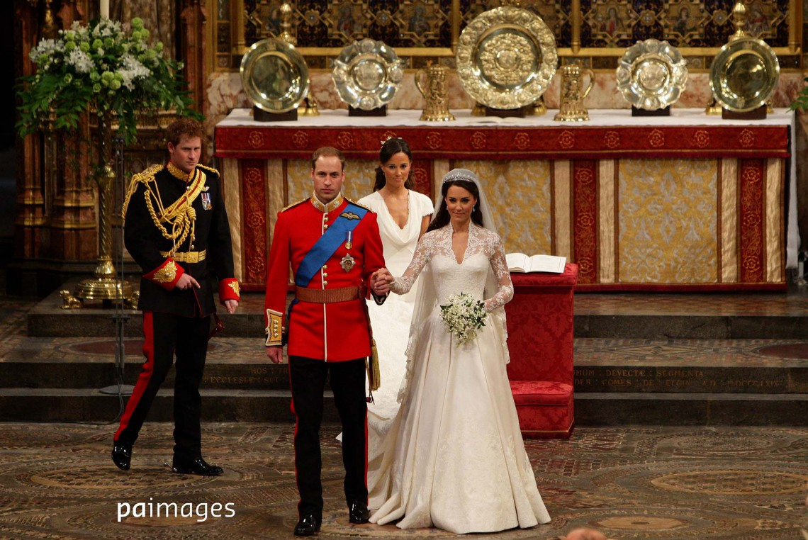 Photographing the spectacular Royal Wedding of William and Kate, 2011