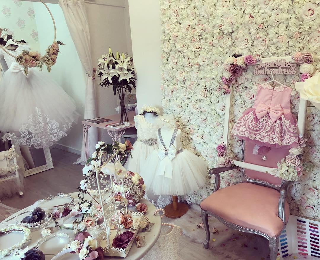 Inside Little Betty's boutique in Stockport